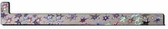Metallic Stars Lightweight Plastic Wristband
