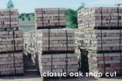 Snap cut sandstone