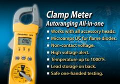HVAC/R Clamp Meter with Temperature and