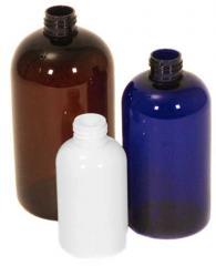 Boston Round PET Bottles