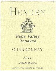 2011 Hendry Ranch Chardonnay Wine
