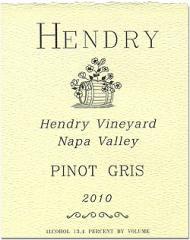 Вино Пино Гри 2010 года