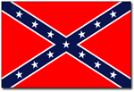 Confederate Navy Jack Flags