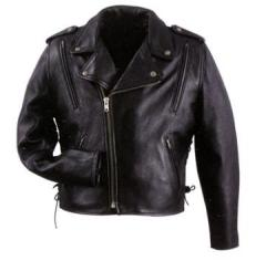 Xelement Men's Leather Vented Cool Rider