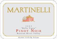 Pinot Noir Bella Vigna Wine