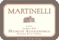 Jackass Hill Muscat Alexandria Wine