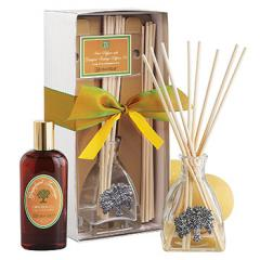 Grapefruit Fandango Reed Diffuser Set with Tree