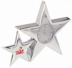 Metal Star Clock