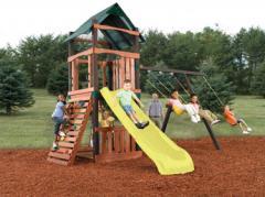 Wood No-Cut Playground Sets