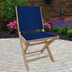 Royal Teak SMCN SailMate Folding Armless Chair