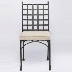 Alfresco Home 21-7302 Checkers Bistro Side Chair