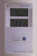 Talking Indoor/Outdoor Digital Thermometer