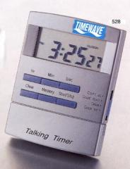 Talking count down/up timer