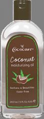 Cococare Coconut Moisturizing Body Oil 9.0 oz