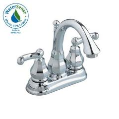 Dazzle Two-Handle Centerset Bathroom Faucet