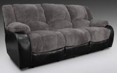 Devon Grey Dual Reclining Sofa