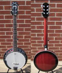 Fender® Rustler 6-String Banjo, Rosewood