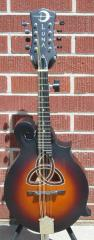 Luna Trinity F-Style Mandolin W/Celtic Inlay