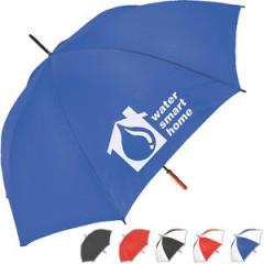 Traveler umbrella with metal shaft