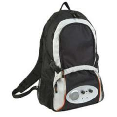 Backpack with radio