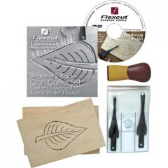 Flexcut® Craft Carver Beginner Carving Set