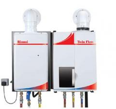 The Rinnai Twin Flow System