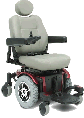 Pride Jazzy 600 Wheelchair