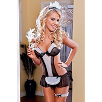 Flirty 3pc Maids Outfit Fantasy Wear