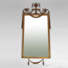 Neoclassical Gilt Wood Rectangular Mirror