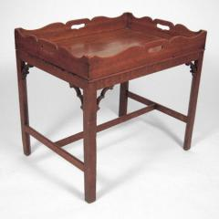 English Provincial Chippendale Period Carved Oak
