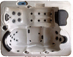 Theo series hot tub