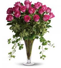 Dreaming in Pink - 18 Long Stemmed Pink Roses