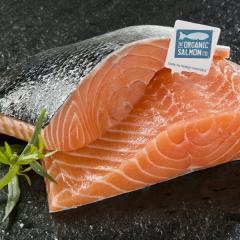 Irish Organic Salmon (Irish Coast)