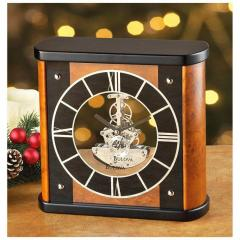 Bulova® Tabor Skeleton Mantel Clock