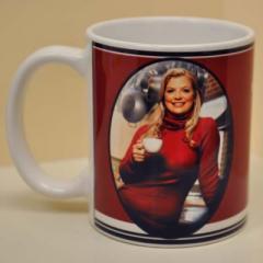 Coffee Mug,  Miss Ellies,  Red Mug