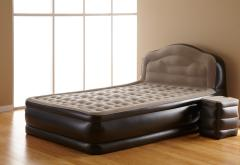 Inflatable Bed with Side Table