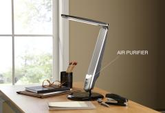 LED Lamp with Air Purifier
