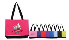 Zipper Shoulder Tote Bag