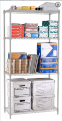 "SLVR Complete 4 Shelf Unit 36"" x 72"" x"