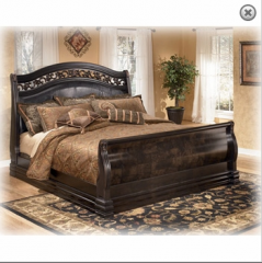 Suzannah King Sleigh Bed