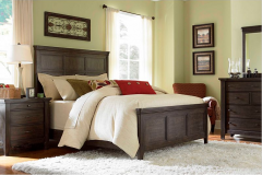 4 Piece California King Panel Bedroom Set
