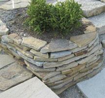 Morgan Blue Stack stone
