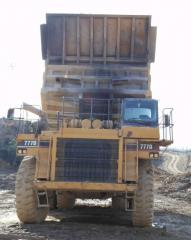 Cat 777D Off-Road Truck
