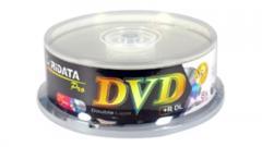 RiDATA PRO 2P DVD+R DL 8.5GB 8X blank discs