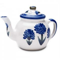 Teapot & Cover Set Bachelor Button