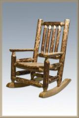 Montana Woodworks Child Log Rocker-Glacier Country