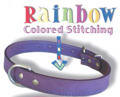 Rainbow leather collection