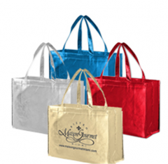 Metallic Designer Laminated Totes Bag