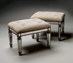 Butler Furniture 1214146 Mirror Ottoman