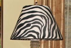 Black Zebra Lamp Shade Covers
